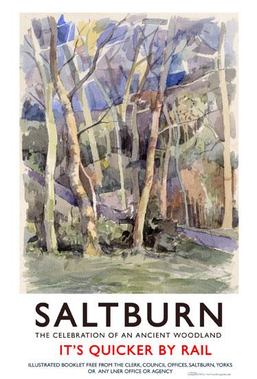 Saltburn Poster