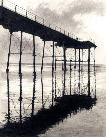 Satburn Pier - Reflections